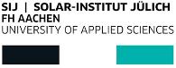 Solar-Institut Jülich der Fachhochschule Aachen-Logo